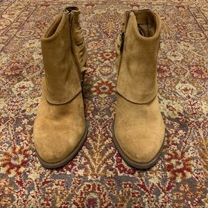 Jessica Simpson suede boots. Size 8